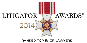 Lewis Law Firm, PC - Winner of the 2014 Litigator Awards - Philadelphia Medical Malpractice Attorney
